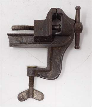 "Clamp on Vise with 1 1/4"" Jaws"