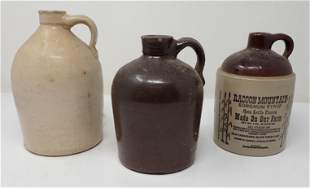 Stoneware Jugs Racoon Mountain Syrup