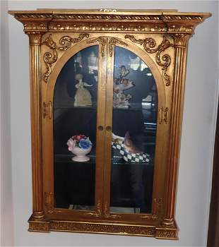 Curio Cabinet and Contents