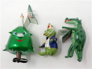3 De Carlini Lord & Taylor Christmas Ornaments