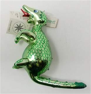 Christopher Radko Dinosaur Christmas Ornament
