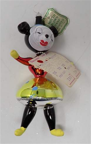 De Carlini Hand Painted Minnie Mouse