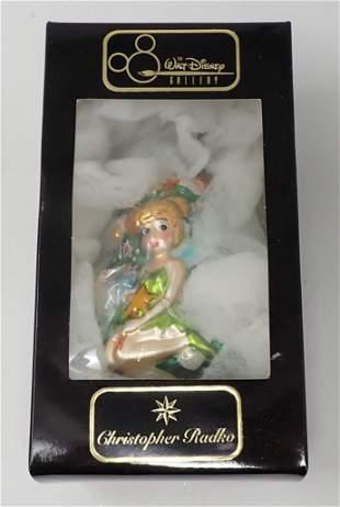 Chistopher Radko Tinker Bell Christmas Ornament