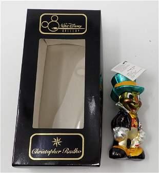 Christopher Radko By Jiminy Christmas Ornament