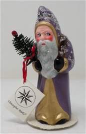 Radko Schaller Paper Mache / Plaster Santa