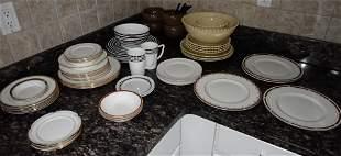 Lenox China Wedgwood Tahari Dinnerware