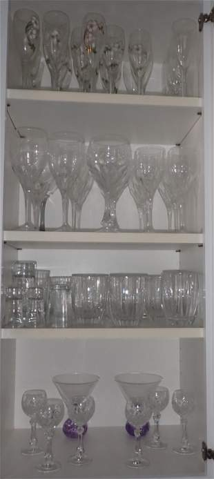 Gorham Lenox Crystal & Misc Glassware