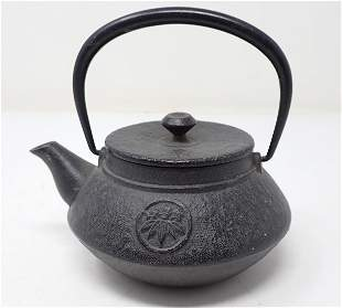 Oriental Iron Teapot