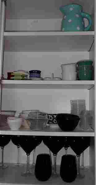 Glassware & Misc Dinnerware