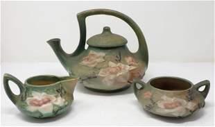 Roseville Magnolia Tea Set