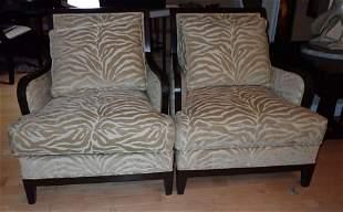 2 Ethan Allen Arm Chairs