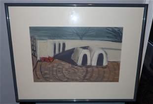 1993 Artist Signed Pastel