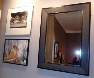 Mirror & Two Photos