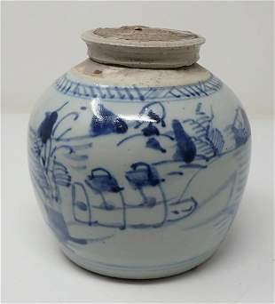 Canton Ginger Jar