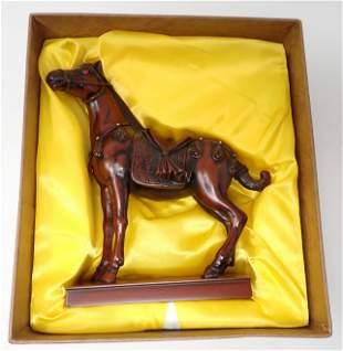 Sou Shan Stoneware Horse