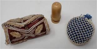 Pin Cushions Thimble Case