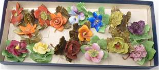 Royal Adderley Bone China Flowers