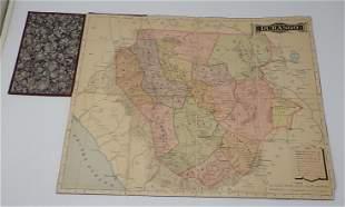 Durango Mexico Folding Map
