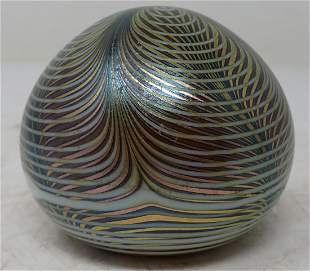 1978 Zephyr Studios Art Glass Paperweight