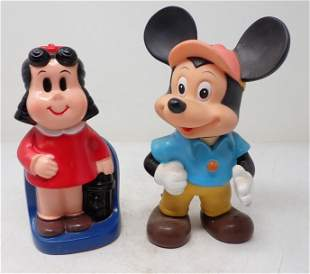 Mickey Mouse Squeeze Toy & Bank