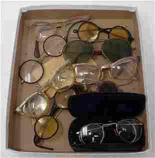 Vintage Eyeglasses and Sunglasses