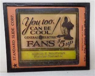 Electrical & GE Fans Magic Lantern Slides