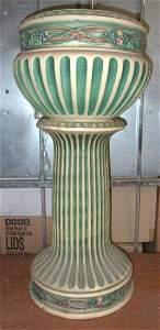 Roseville Carinthian Jardinere & Pedestal