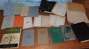 Taylor Wharton Annual Reports & Misc Books