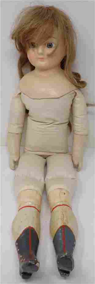 """4"""" Composition Doll"""
