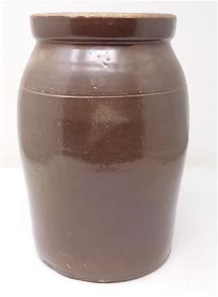 Stoneware Crock / Preserve Jar