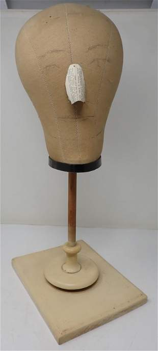 Mannequin Head and Base