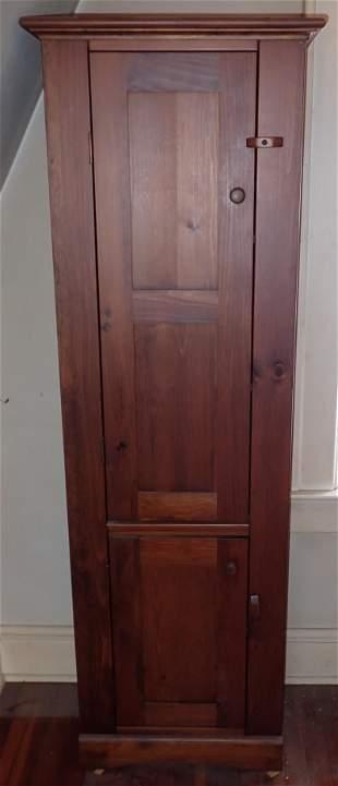 2 Door Pine Cabinet