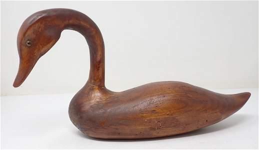 1992 Ernie Vargo Wormy Butternut Swan / Goose