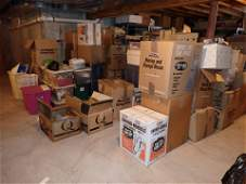 Partial Contents of Basement