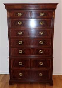 Hekman High Chest Dresser Nightstands King Size Bed
