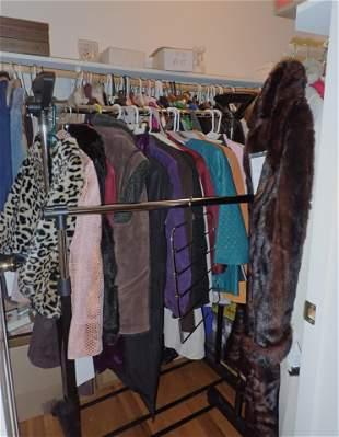 Large Clothing Closet Contents
