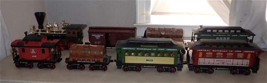 Jim Beam Steam Locomotive Train Decanter Set