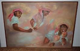 Margaret Marsh Calypso Oil Painting