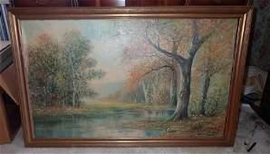 Oil on Canvas Raphael Senseman