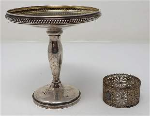 Fisher 964 Sterling Silver Compote
