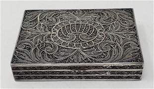 925 Sterling Silver Box