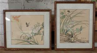 2 Oriental Prints