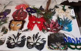 Table Contents of Feather Masks