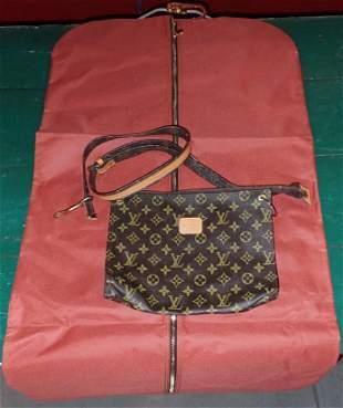 Louis Vuitton Purse and Garment Bag