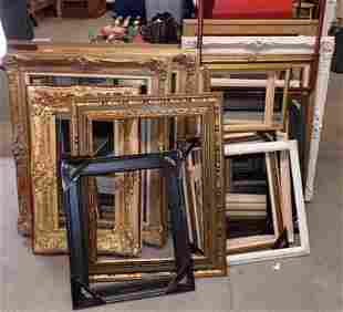 Large Pile of Picture Frames