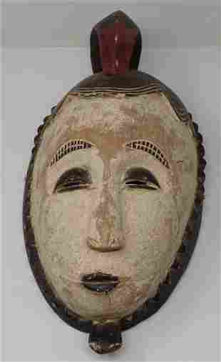 Wooden African Carved Mask