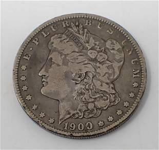 1900 Morgan Silver Dollar O
