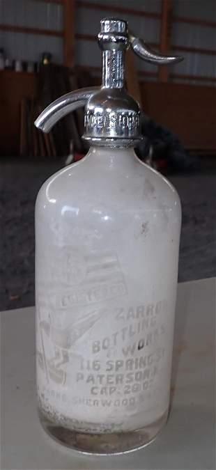 Zarrow Seltzer Bottle
