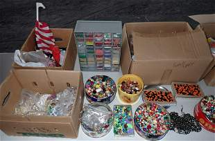 Boxes and Tins Full of Beads