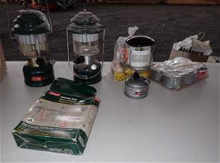 Coleman Lanterns and Misc